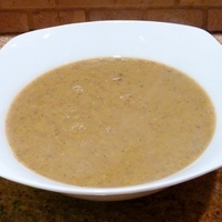 Creamy Lentil and Broccoli Soup